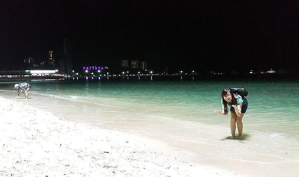 Biển Pattaya về đêm