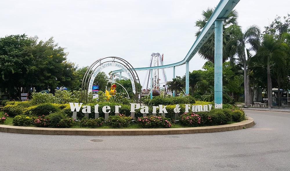 Công viên water park pattaya chả thấy hoạt động gì cả, buồn hiu hiu