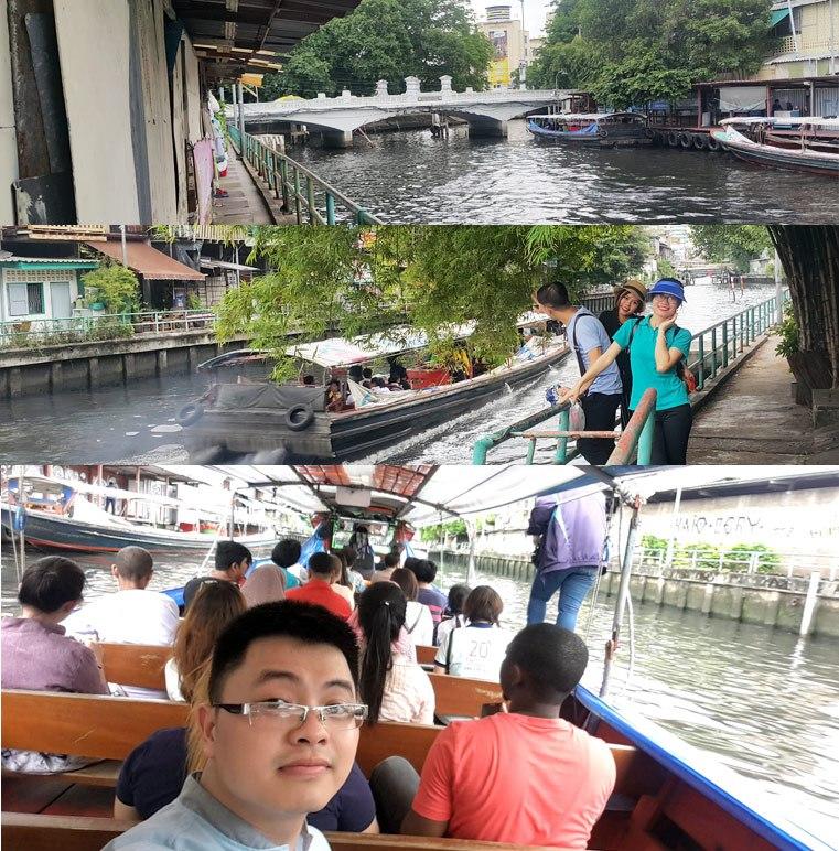 Di chuyển bằng thuyền bus trong nội đô Bangkok