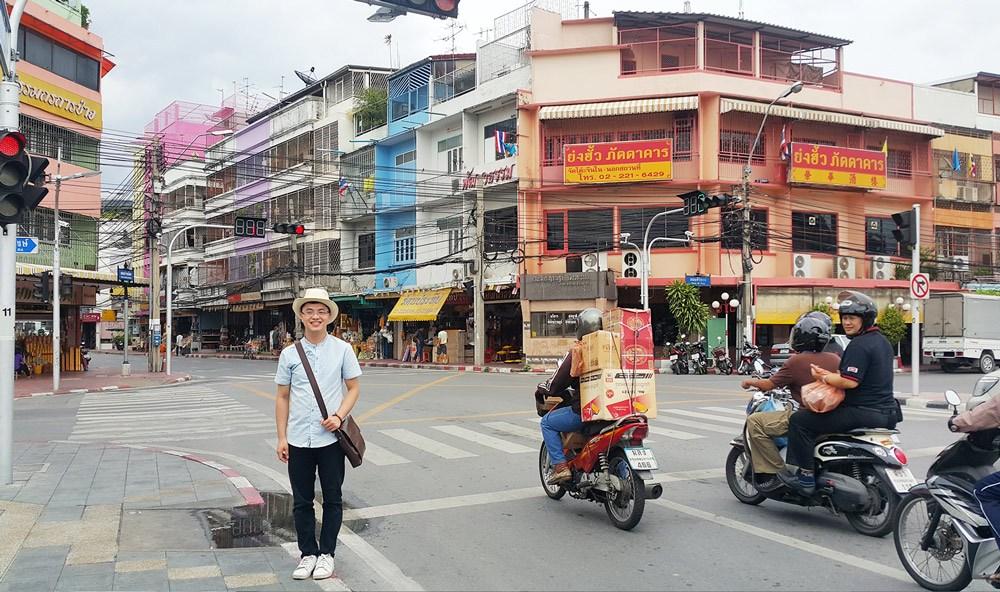 Đường phố Thái Lan