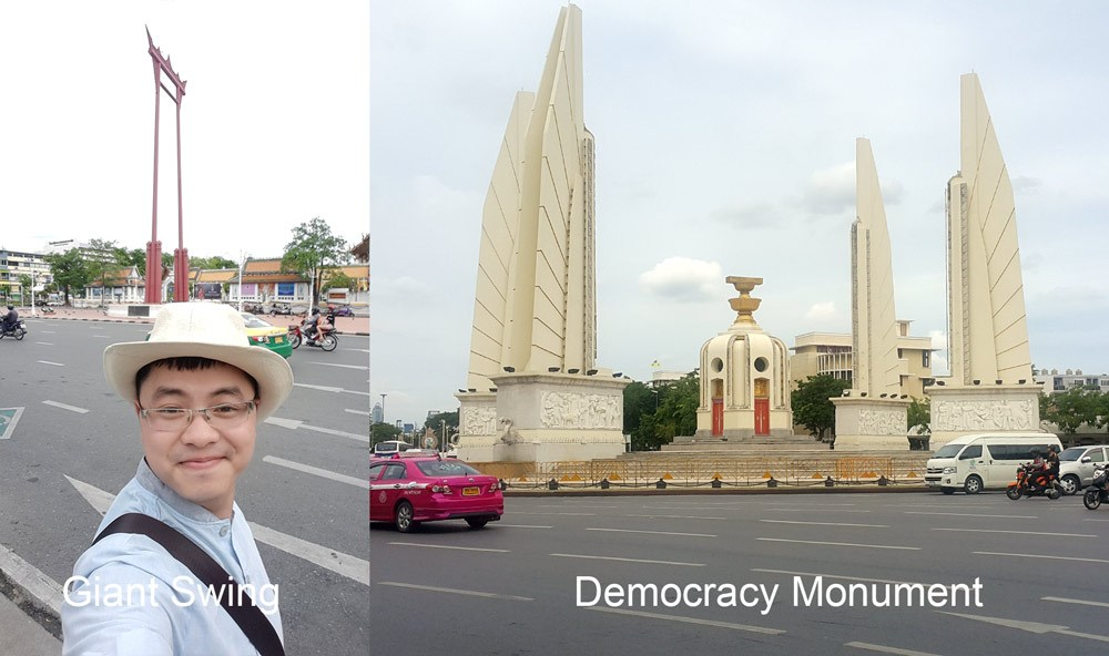 Giant Swing and Democracy Monument
