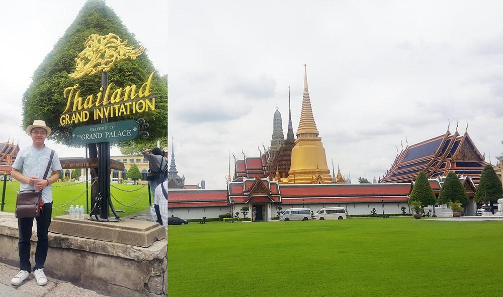 Cung điện hoàng gia Grand palace Thái Lan