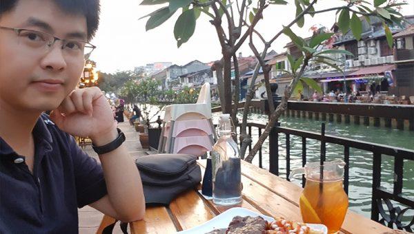 Ăn tối bên bờ sông, lãng mạn thôi rồi, tiếc là đi mỗi mình, huhu - Nhà hàng The street kitchen