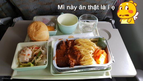 Suất ăn Vietnam Airline