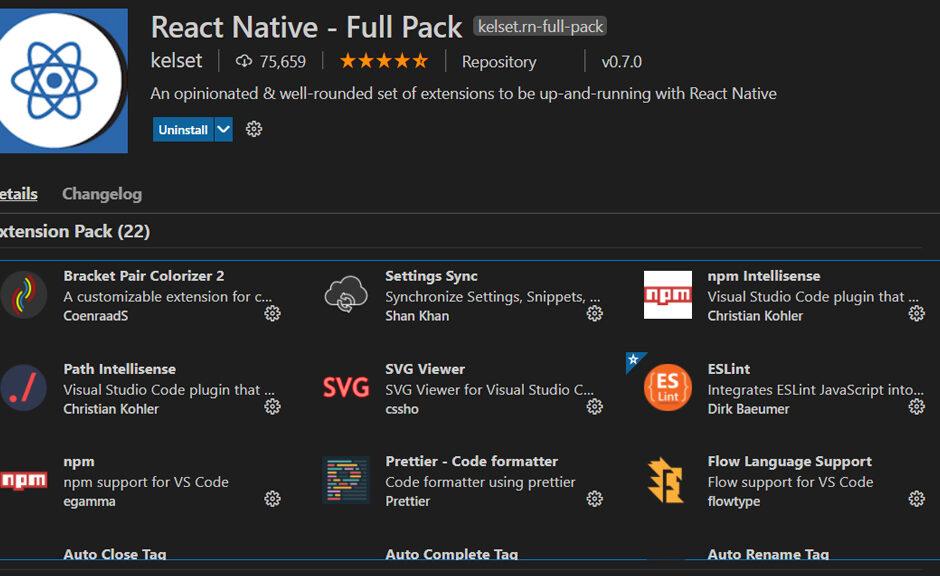 Hướng dẫn cài plugin cho Visual Studio Code hỗ trợ lập trình React Native